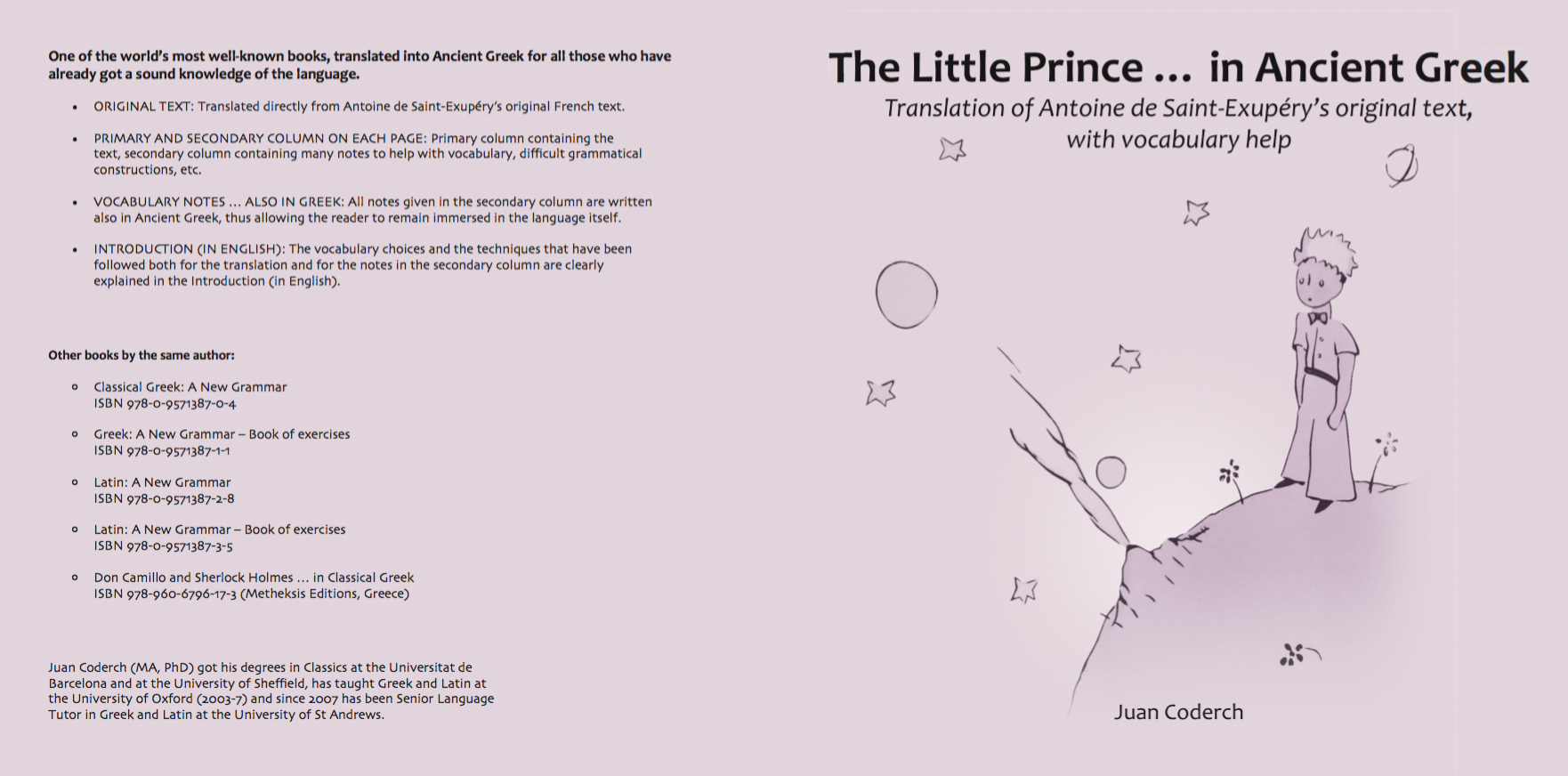 Image result for the little prince in ancient greek